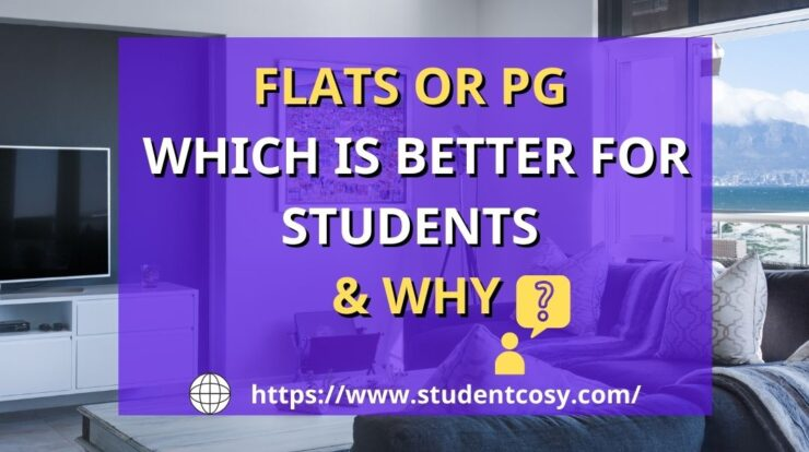 Difference between flats & PG