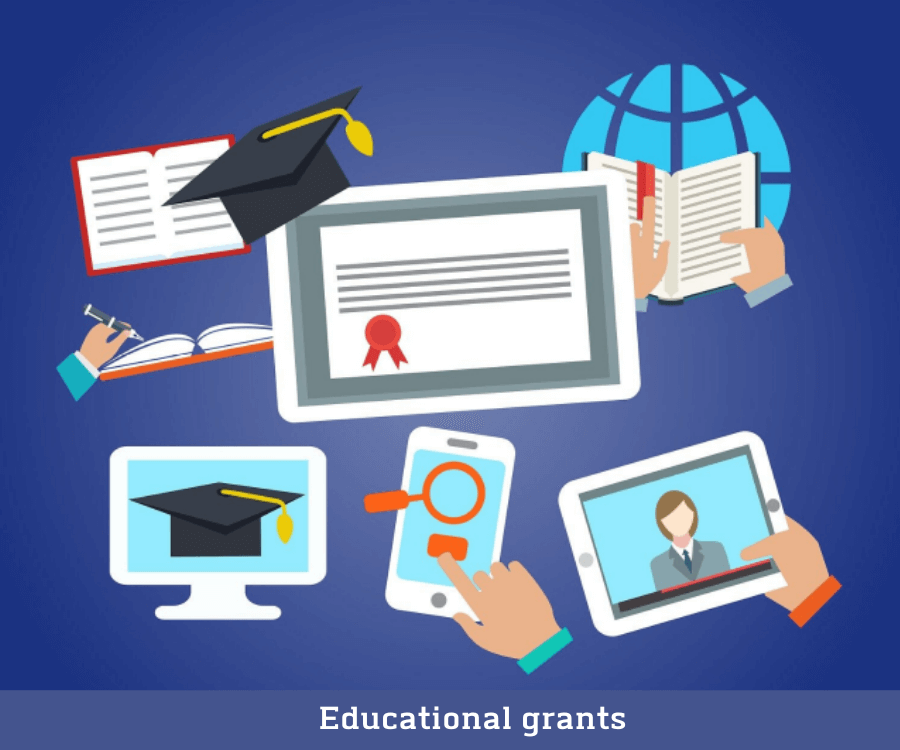 Assist to get Educational Grants